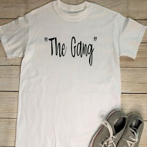 """""""The Gang"""" Unisex Kids Graphic Shirt Various Sizes"""